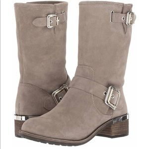 Vince Camuto Suede Mid Calf Boots